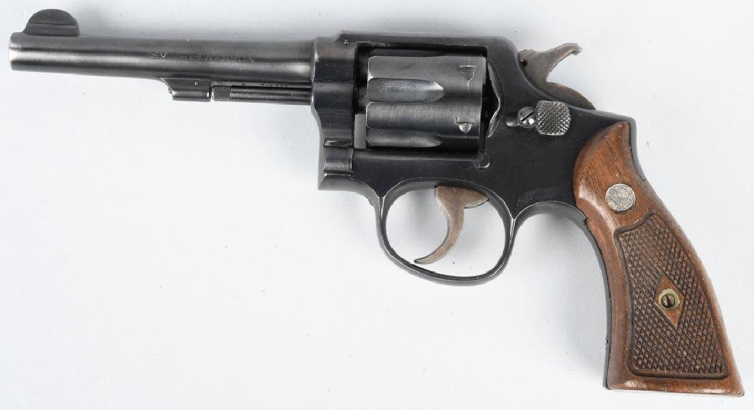 SMITH & WESSON .38 SPECIAL REVOLVER
