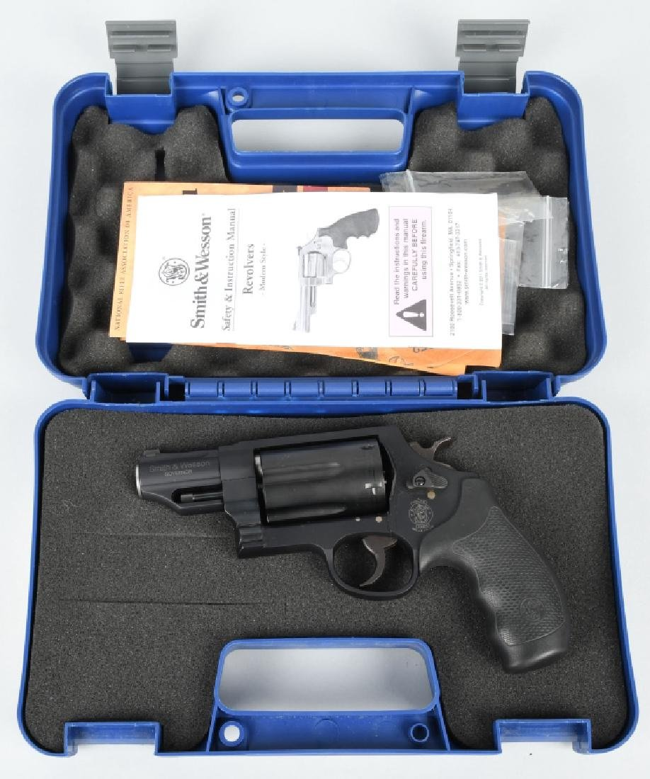 SMITH & WESSON GOVERNOR, .45 / .410 REVOLVER, BOX
