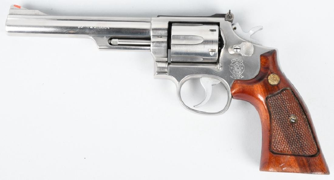 SMITH & WESSON 66-2, .357 MAG. STAINLESS REVOLVER