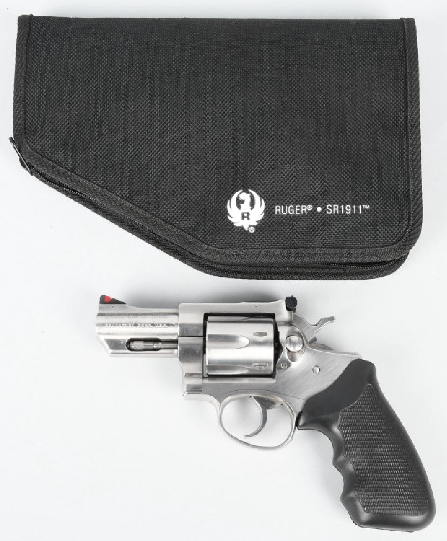 RUGER SECURITY-SIX .357 MAG. STAINLESS REVOLVER