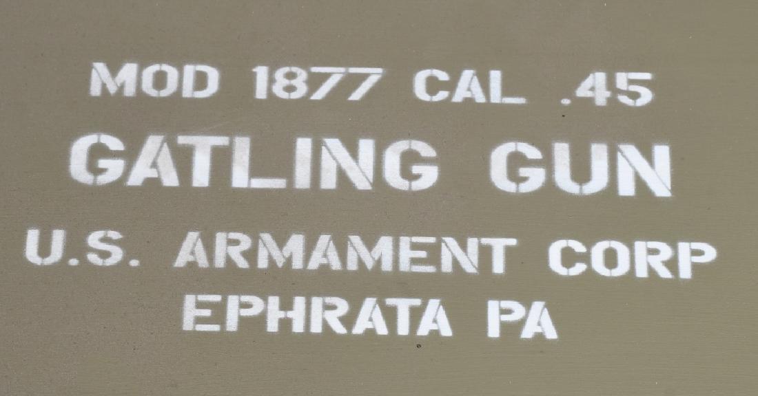 1877 BULLDOG .45-70 GATLING BATTERY GUN - 17