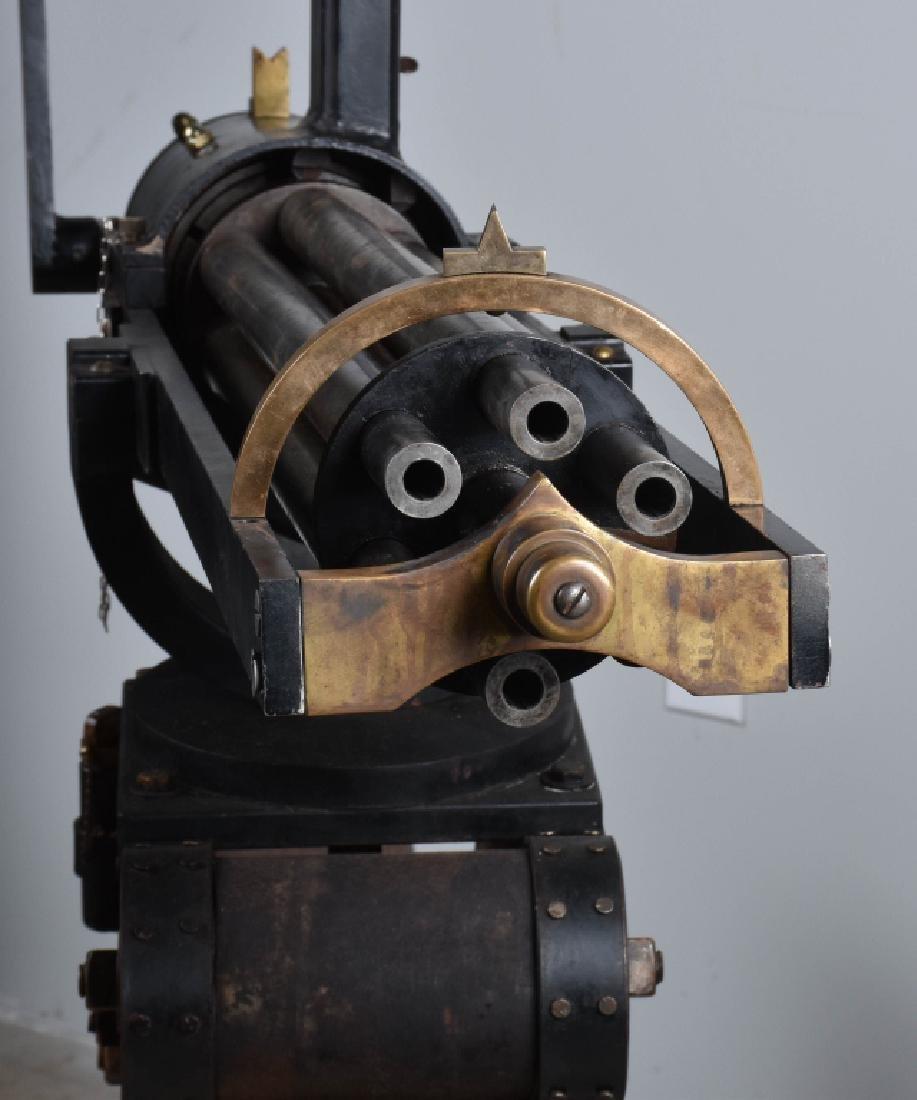 1/1 MODEL 1862 FULL SIZE OPERATING .50 GATLING GUN - 11