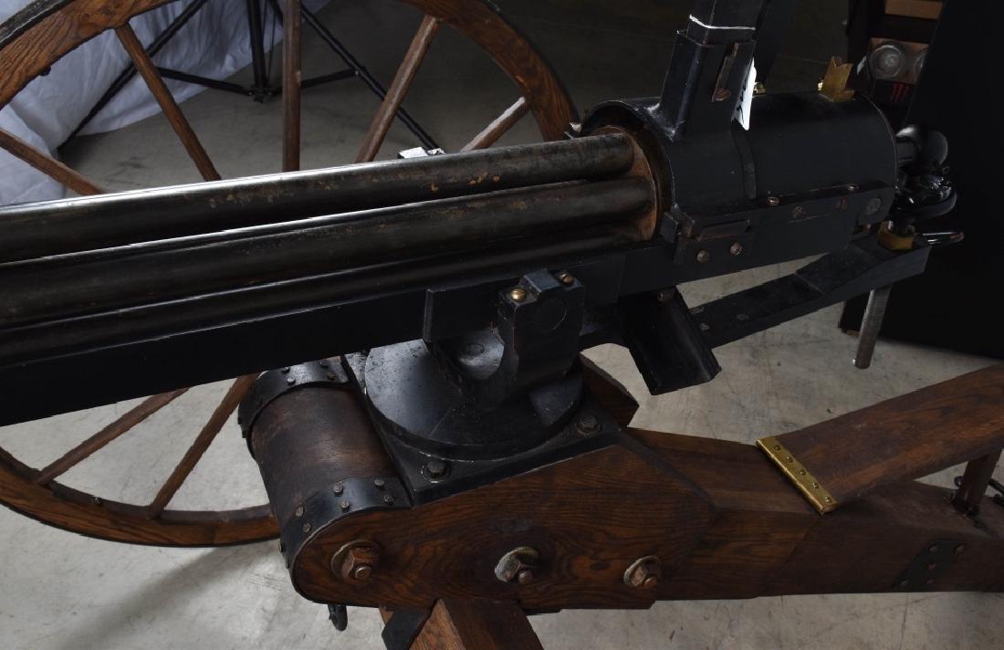 1/1 MODEL 1862 FULL SIZE OPERATING .50 GATLING GUN - 12