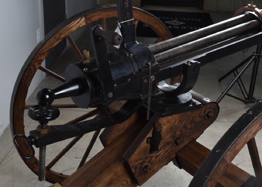 1/1 MODEL 1862 FULL SIZE OPERATING .50 GATLING GUN - 13