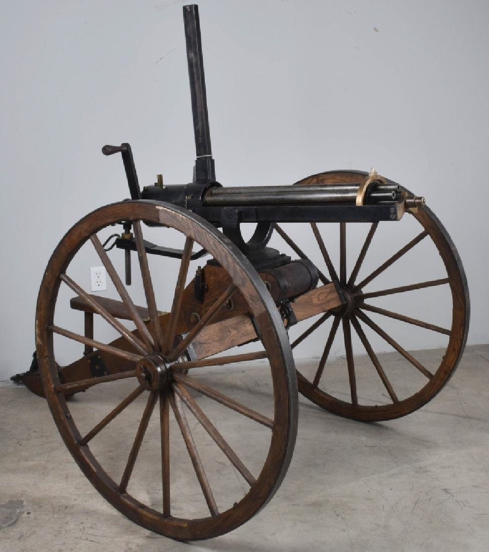 1/1 MODEL 1862 FULL SIZE OPERATING .50 GATLING GUN