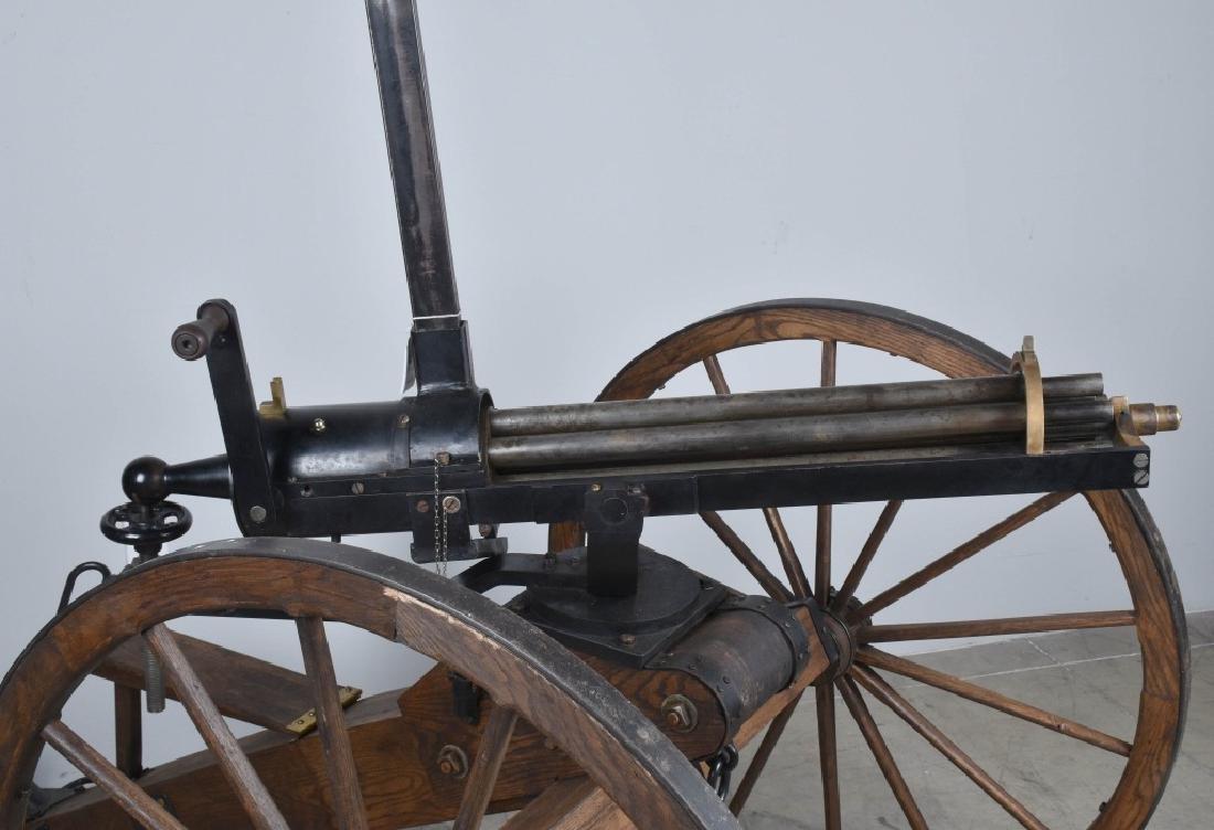 1/1 MODEL 1862 FULL SIZE OPERATING .50 GATLING GUN - 2