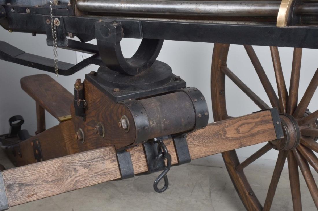 1/1 MODEL 1862 FULL SIZE OPERATING .50 GATLING GUN - 4