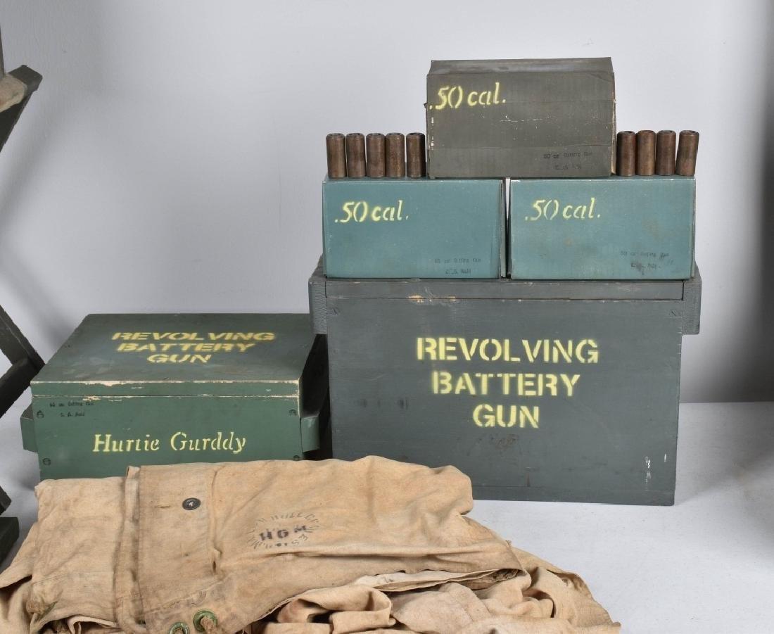 1/1 MODEL 1862 FULL SIZE OPERATING .50 GATLING GUN - 6
