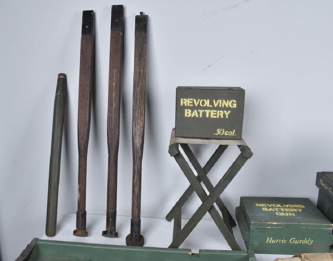1/1 MODEL 1862 FULL SIZE OPERATING .50 GATLING GUN - 9