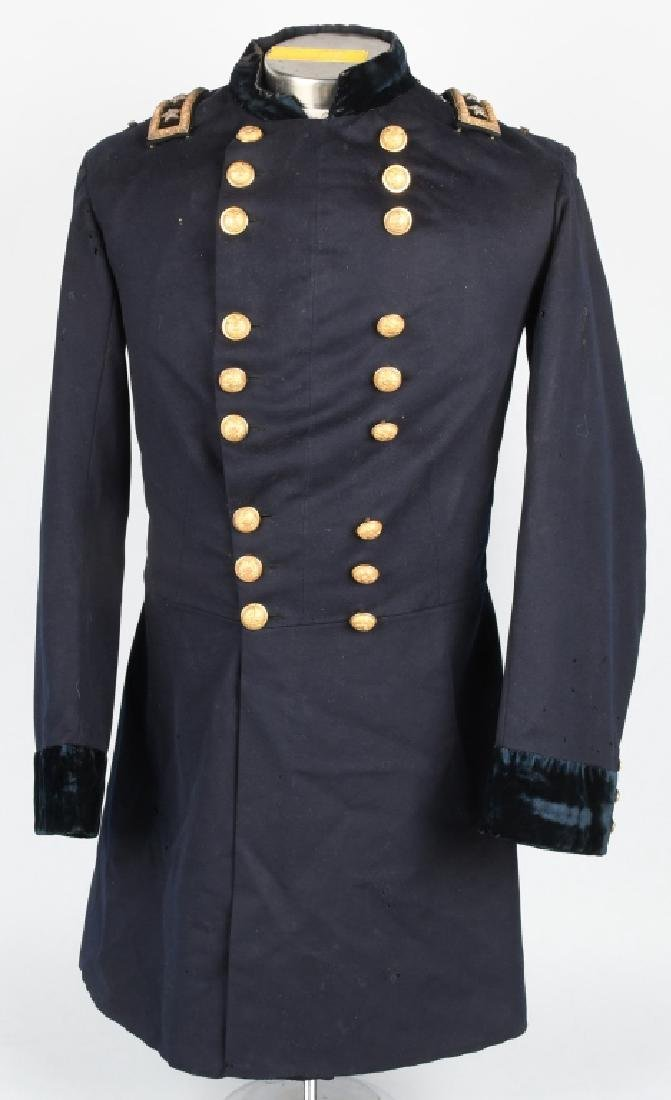 CIVIL WAR MAJOR GENERAL FROCK COAT WITH STRAPS