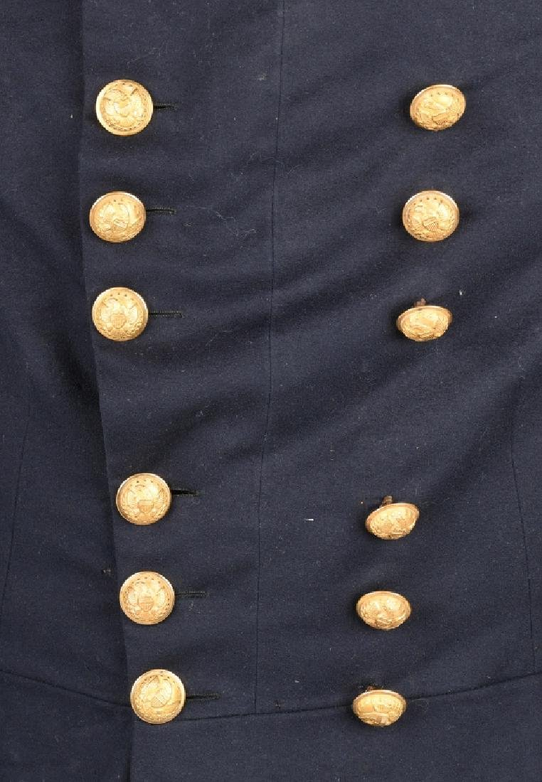 CIVIL WAR MAJOR GENERAL FROCK COAT WITH STRAPS - 4