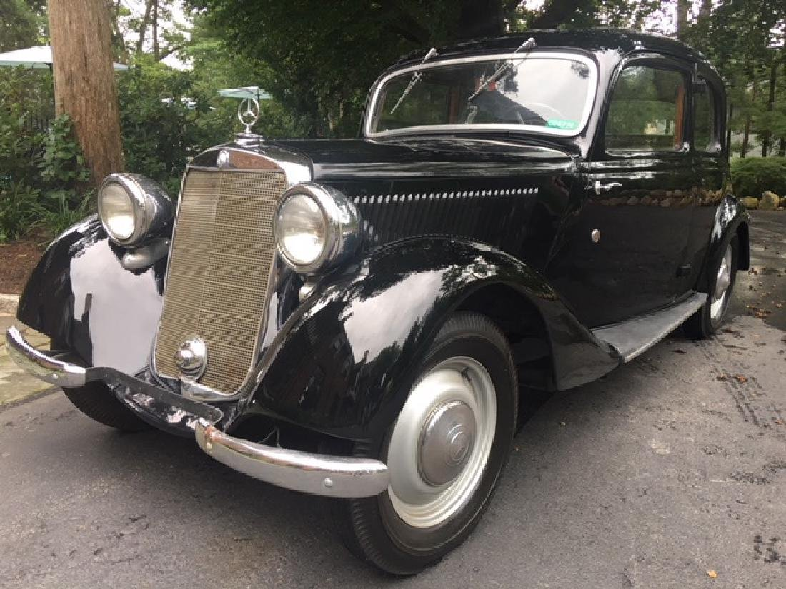 NAZI SA DOCTOR OWNED 1936 MERCEDES BENZ 170V COUPE - 2