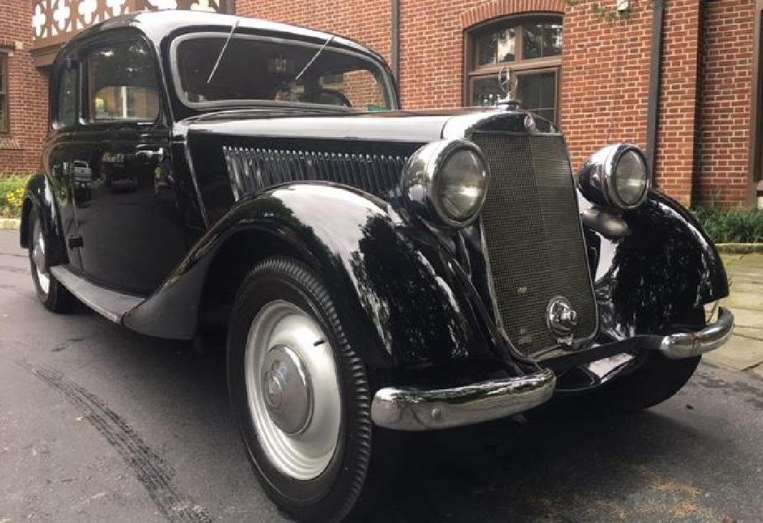 NAZI SA DOCTOR OWNED 1936 MERCEDES BENZ 170V COUPE - 5