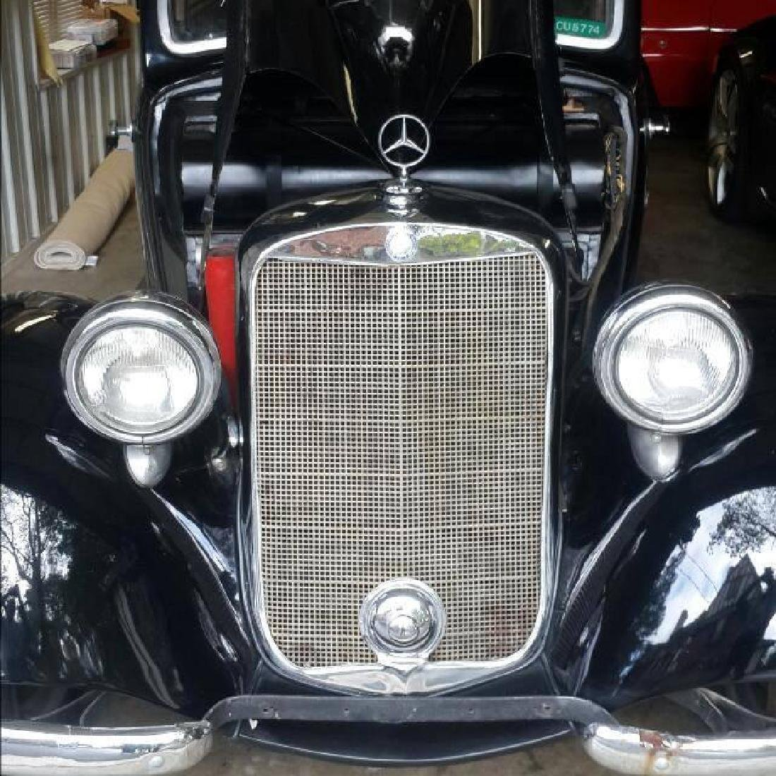 NAZI SA DOCTOR OWNED 1936 MERCEDES BENZ 170V COUPE - 9