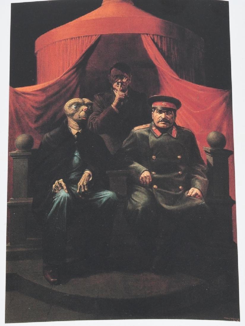 KOMAR & MELAMID YALTA CONFERENCE PAINTING 1982 - 7