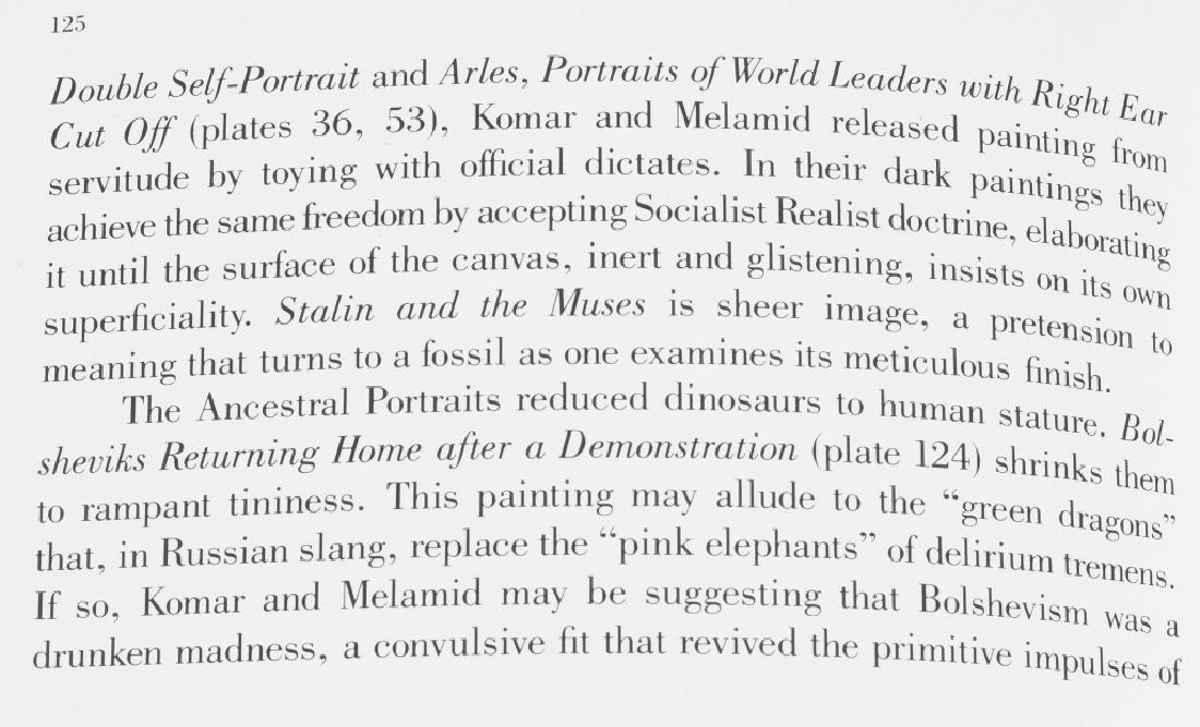 KOMAR & MELAMID YALTA CONFERENCE PAINTING 1982 - 8