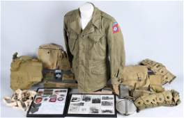 WWII US ARMY IDED 82ND AIRBORNE PARATROOPER GROUP