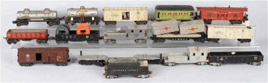15- LIONEL ROLLING STOCK CARS