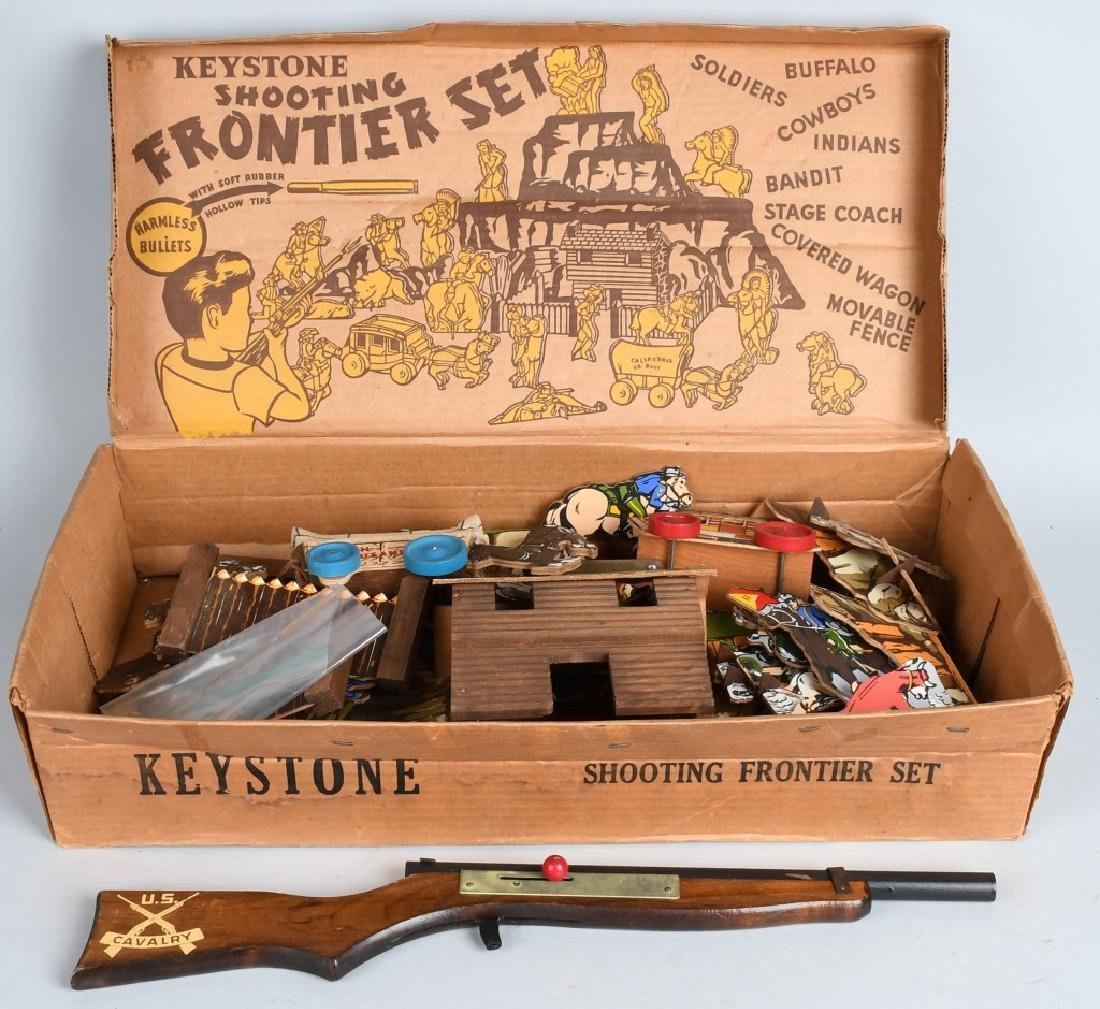 KEYSTONE SHOOTING FRONTIER SET w/ BOX
