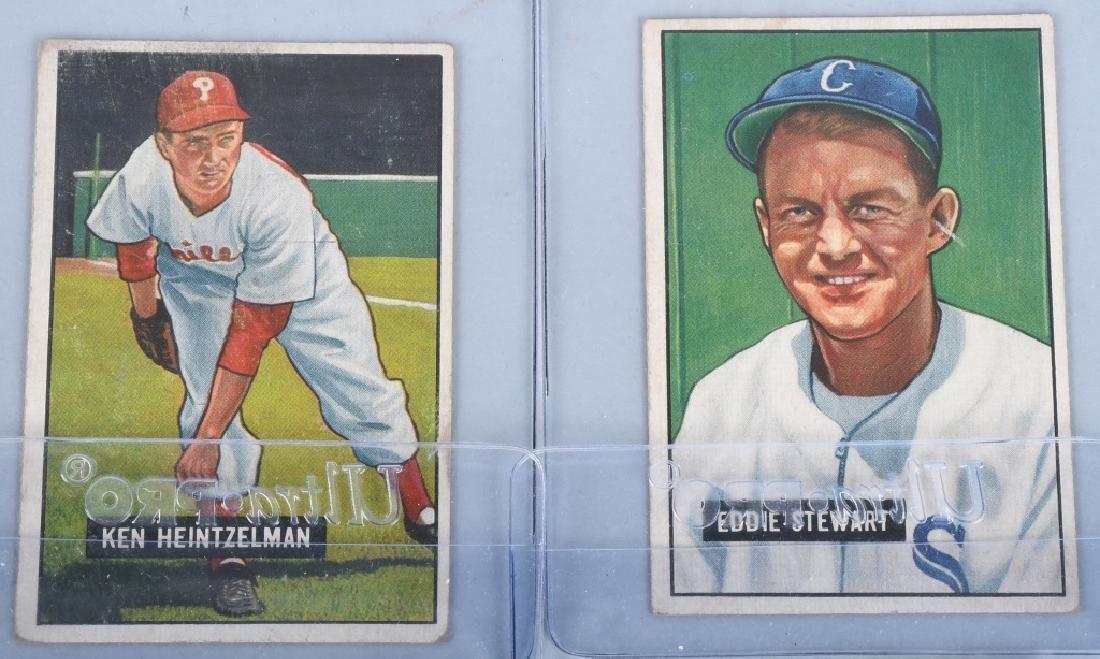 1951 BOWMAN 10 CARD LOT - 3