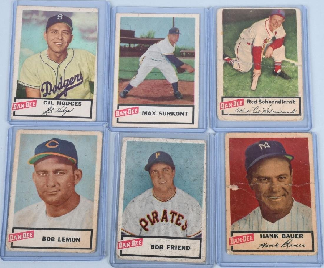 DAN-DEE POTATO CHIP BASEBALL 11 CARD LOT - 5