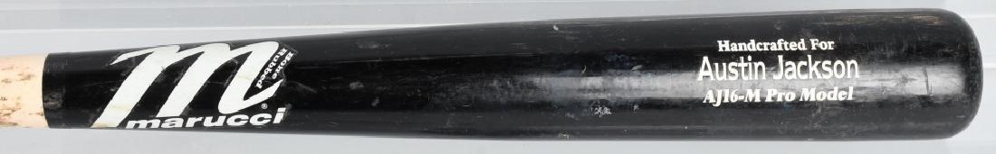 AUSTIN JACKSON CLEVELAND INDIANS GAME USED BAT