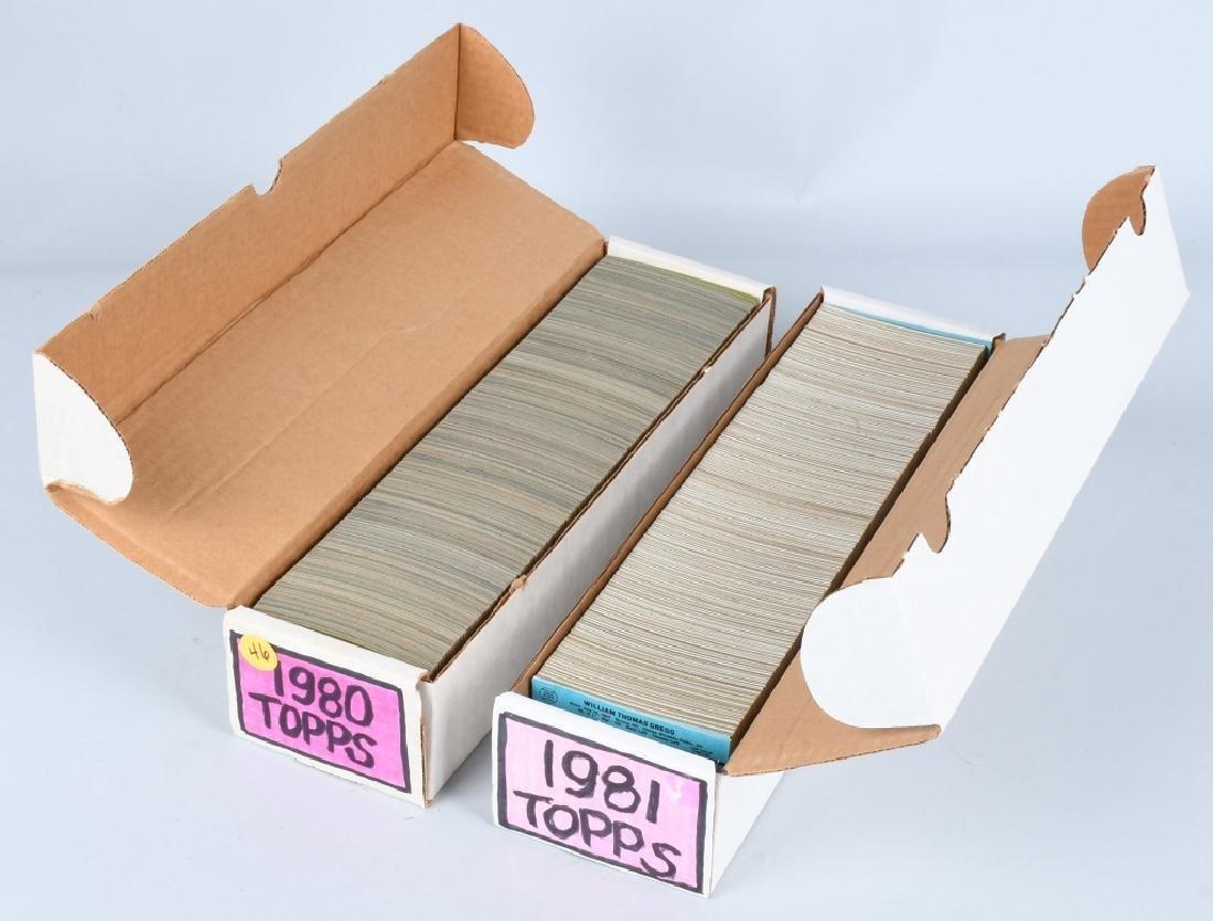 1980 & 1981 TOPPS BASEBALL CARD SET