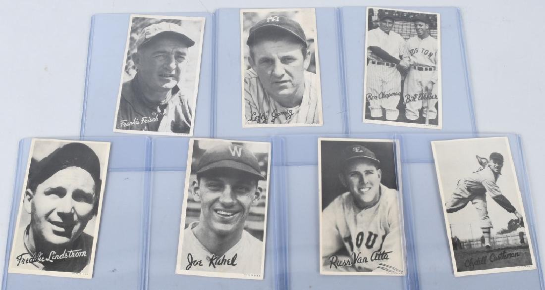 1936 GOUDEY BASEBALL CARDS WIDE PREMIUM TYPES
