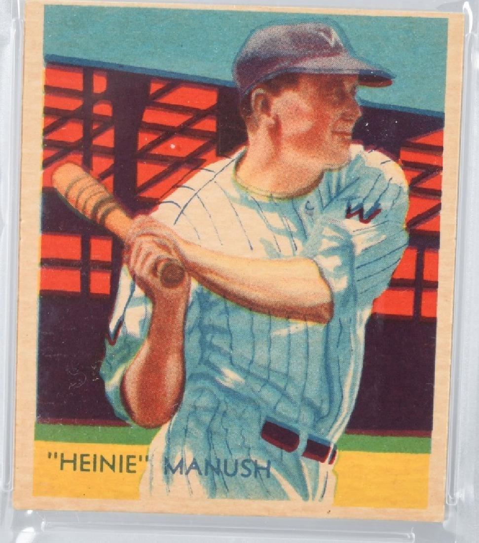 1935 DIAMOND STARS HEINIE MANUSH CARD #30 PSA - 2