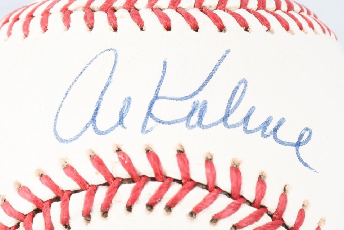 TIGERS AL KALINE & DENNY MCLANE SIGNED BALLS - 2