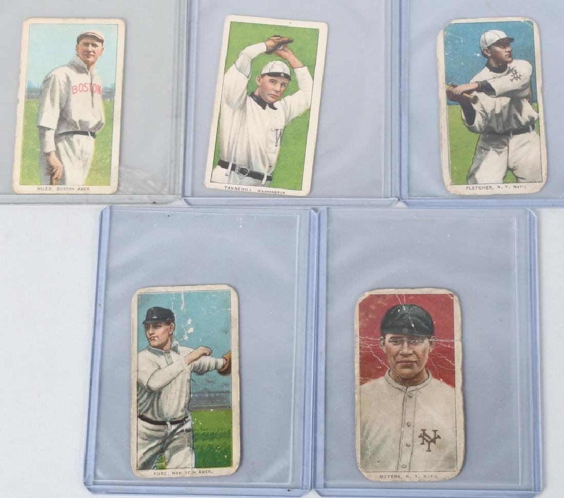 1909-1911 PIEDMONT T206 CIGARETTE BASEBALL CARDS