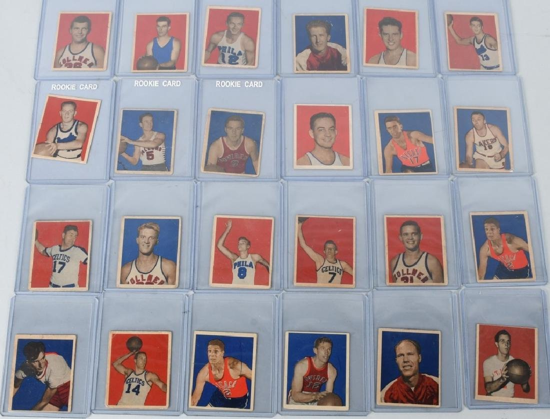 1948 BOWMAN BASKETBALLCARD LOT