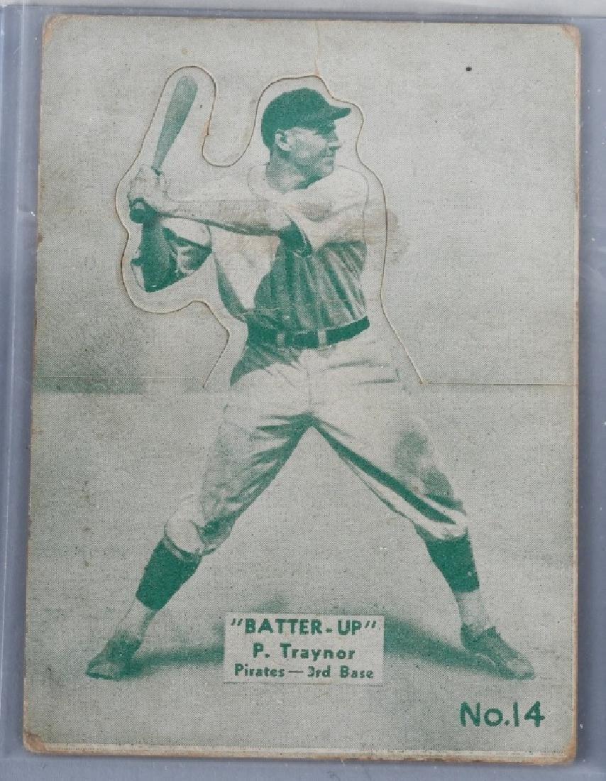 1934-1936 BATTER UP (R318) TRAYMOR BASEBALLCARD
