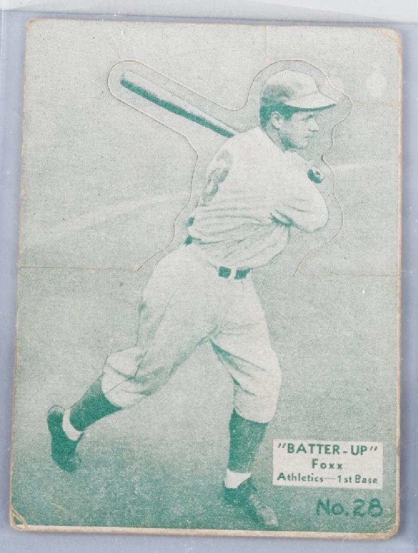 1934-1936 BATTER UP (R318) FOXX BASEBALLCARD