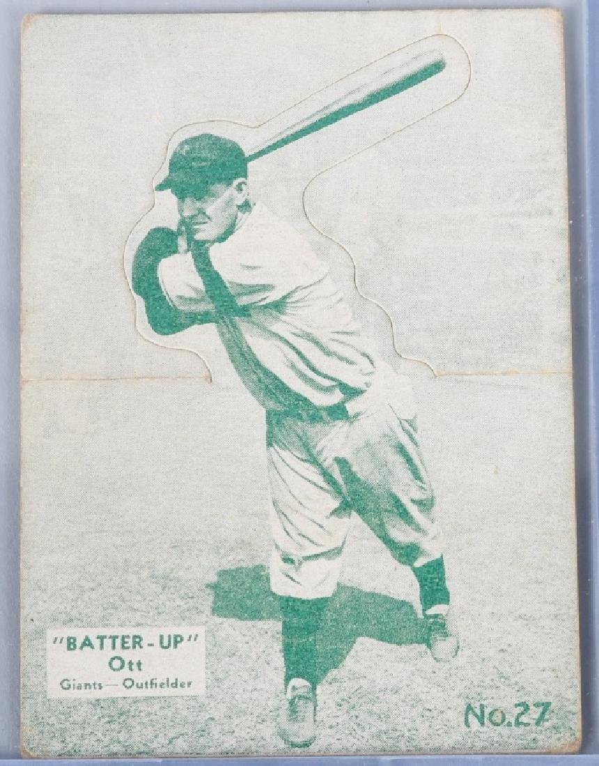 1934-1936 BATTER UP (R318) MEL OTT BASEBALL CARD