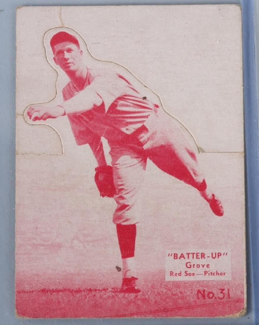1934-1936 BATTER UP (R318) GROVE BASEBALLCARD