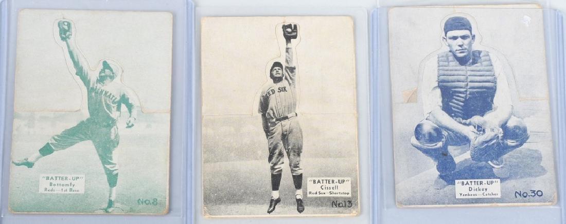 1934-1936 BATTER UP (R318) BASEBALLCARD LOT