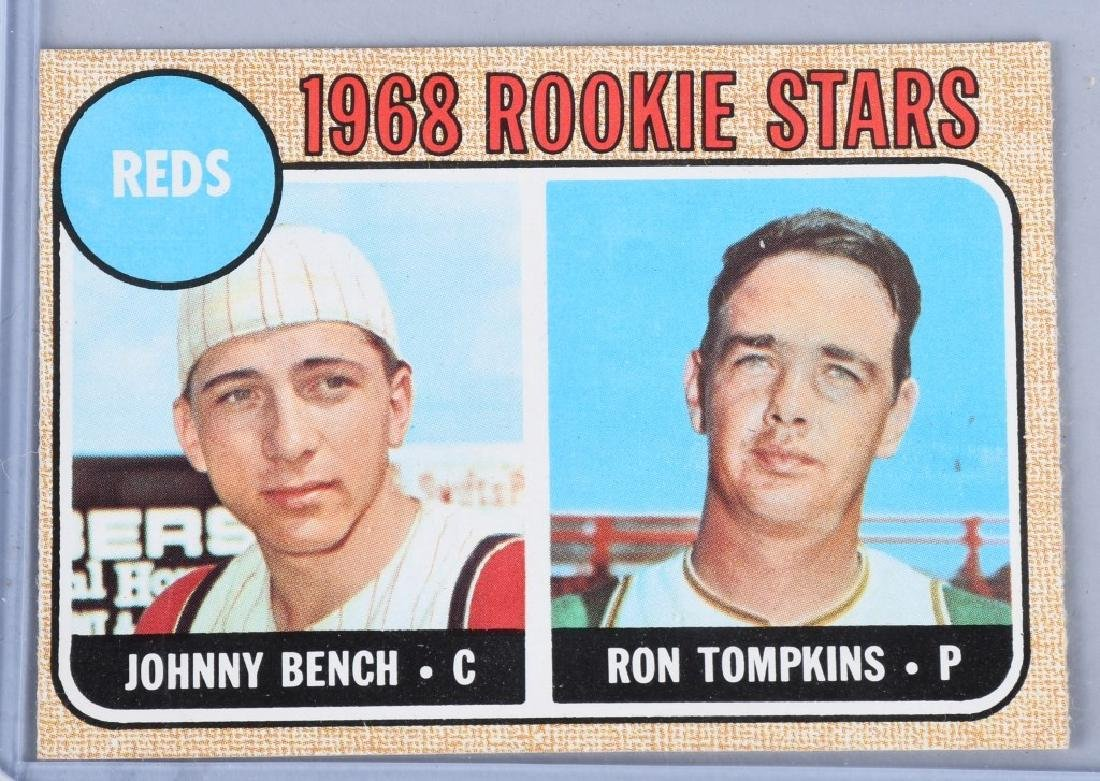 1968 TOPS #246 BENCH & TOMPKINS ROOKIE CARDS