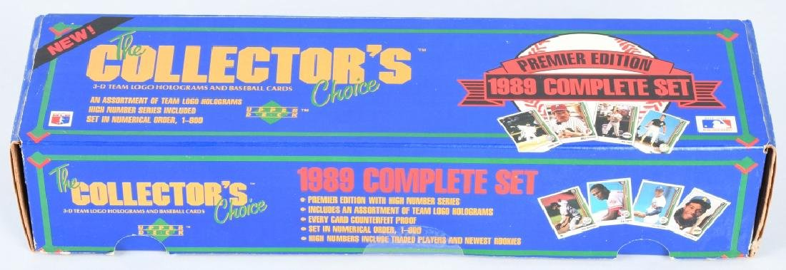 1989 UPPER DECK FACTORY BASEBALL SET GRIFFEY JR