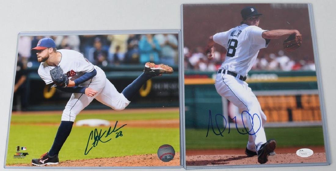 ANDREW MILLER & COREY KLUBER SIGNED 8X10 PHOTOS