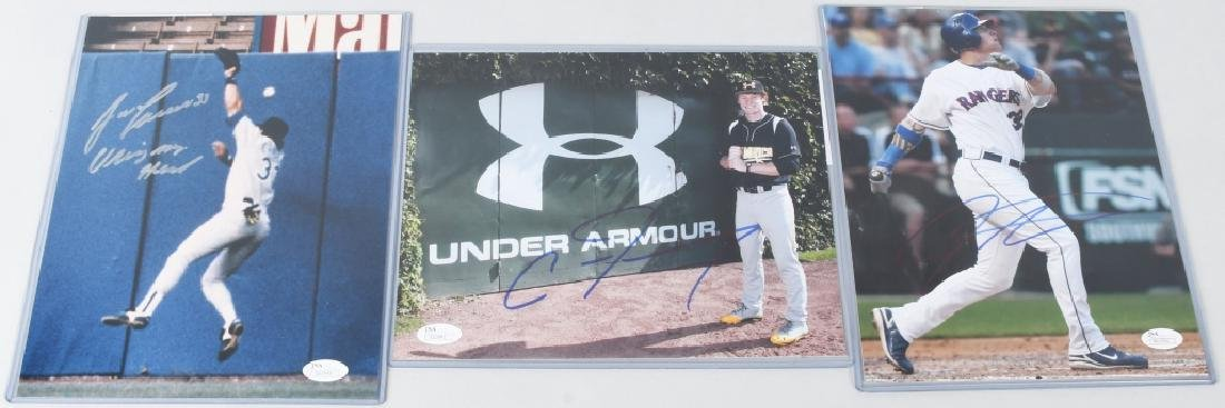 ALEX RODRIGUEZ YANKEES SIGNED 8X10 PHOTO + MORE