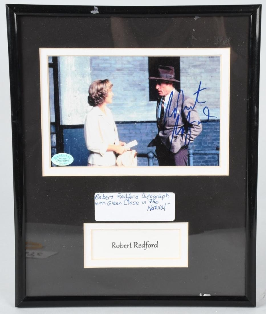 ROBERT REDFORD AUTOGRAPHED PICTURE