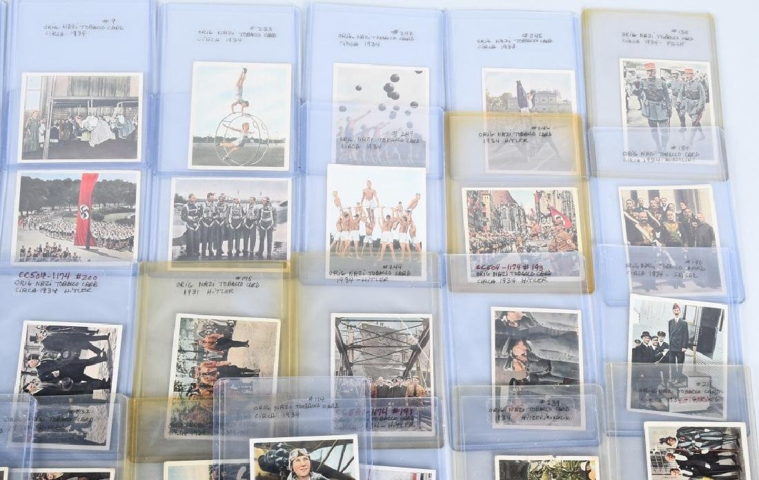 ORIGINAL NAZI TOBACCO CARDS 1934 - 3