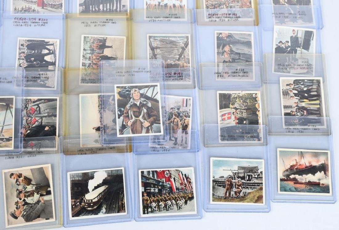 ORIGINAL NAZI TOBACCO CARDS 1934 - 4