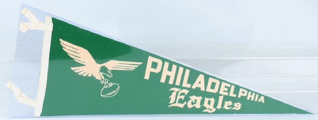 PHILADELPHIA EAGLES VINTAGE FULLSIZE 1950 PENNANT