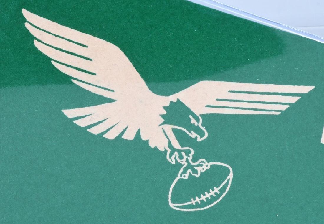 PHILADELPHIA EAGLES VINTAGE FULLSIZE 1950 PENNANT - 2