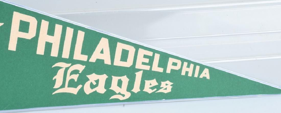 PHILADELPHIA EAGLES VINTAGE FULLSIZE 1950 PENNANT - 3