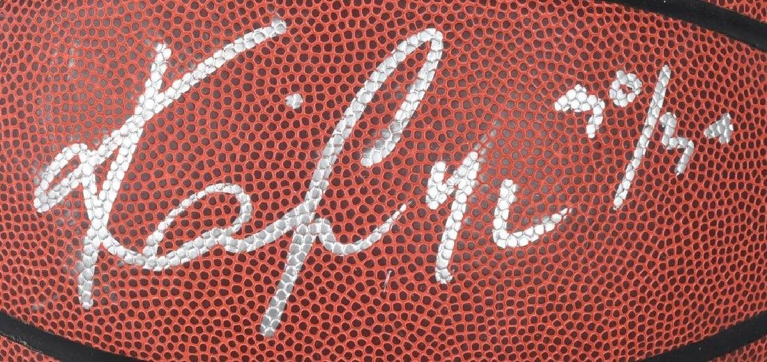 KYRIE IRVING FULL-SIZE SIGNED BASKETBALL - 2