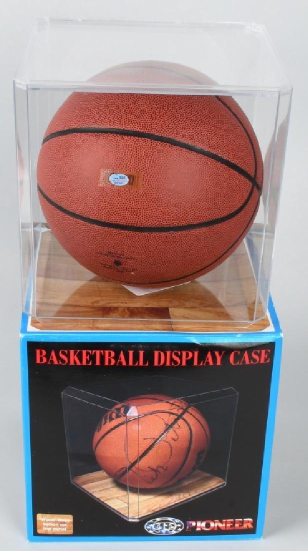 KYRIE IRVING FULL-SIZE SIGNED BASKETBALL - 3