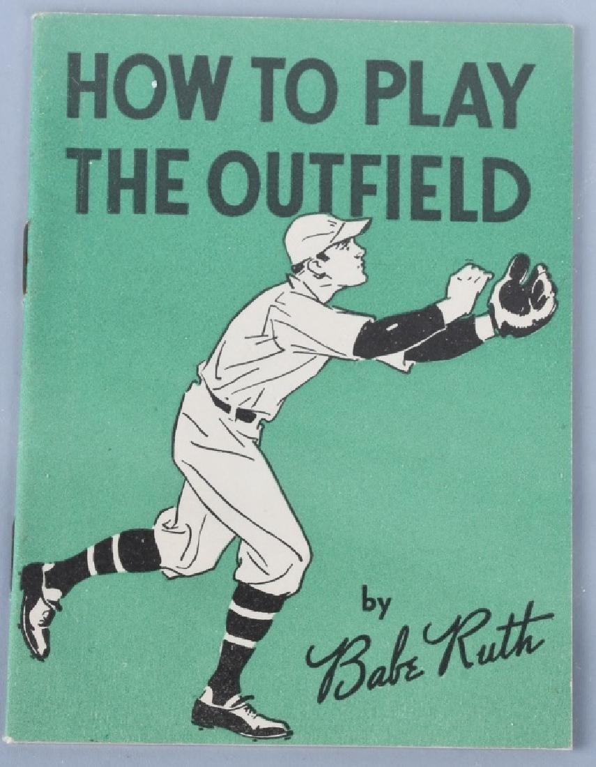 BABE RUTH QUAKER OATS 1934 MINI SPORT BOOKS - 5